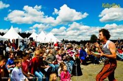 Herrliches Wetter und jedes Fleckchen Wiese belegt: Der Sonntag Nachmittag bei KulturPur21