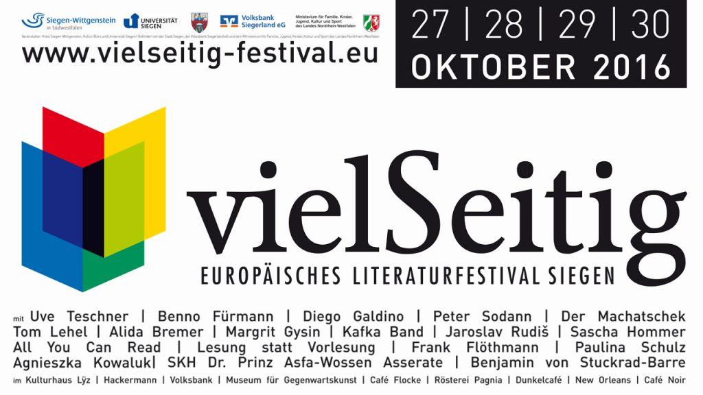 vielSeitig Literaturfestival Siegen
